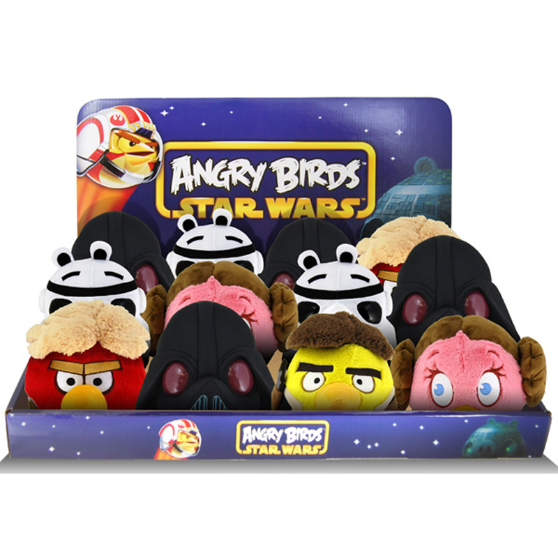Star Wars 5 Plush From Angry Birds Wwsm