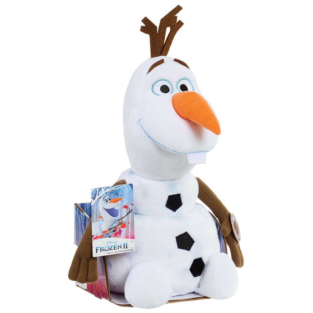 Disney Frozen 2 Olaf Soft Plush Toy With Sound-JPL32585