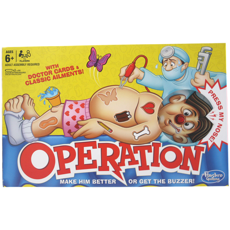 Christmas Operation Game.Hasbro Gaming Classic Operation Game