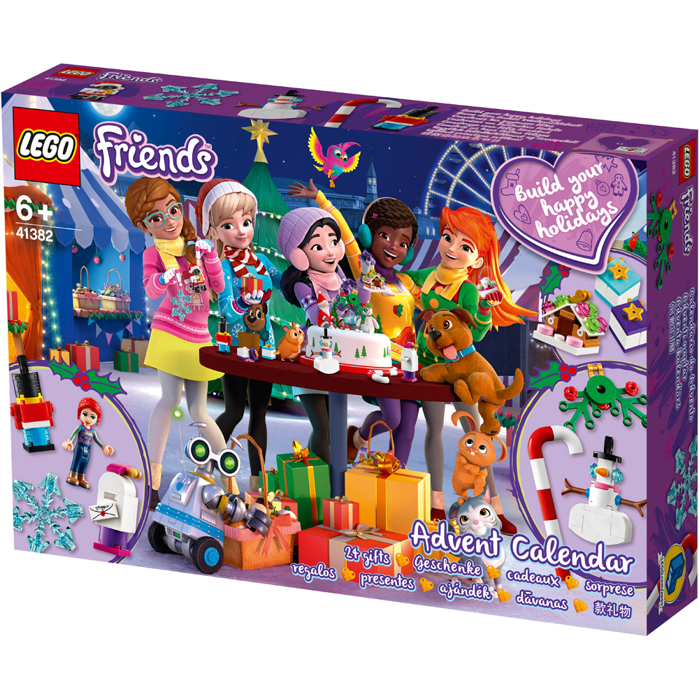 lego friends advent calendar 2019 41382 ebay. Black Bedroom Furniture Sets. Home Design Ideas