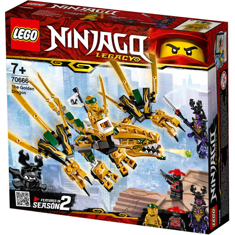 Lego Ninjago The Golden Dragon 70666 5702016367362 | eBay
