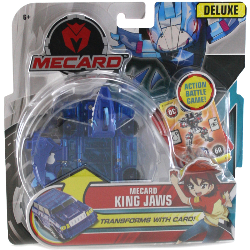 Mecard-Mecardimal-Deluxe-Figure-Pack-CHOICE-OF-CHARACTER-ONE-SUPPLIED-NEW