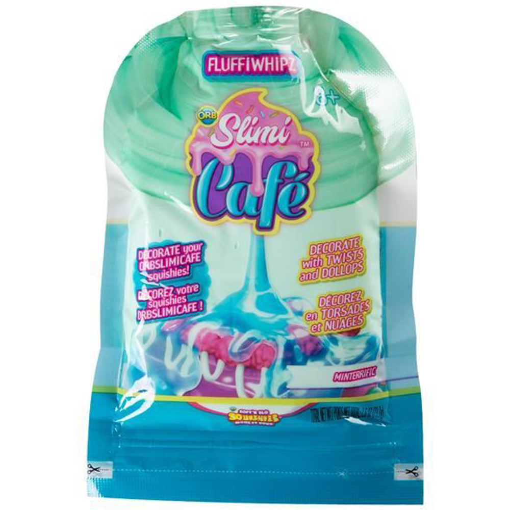 CHOICE OF TYPE ONE SUPPLIED Orb Slimi Café Squishy Compound