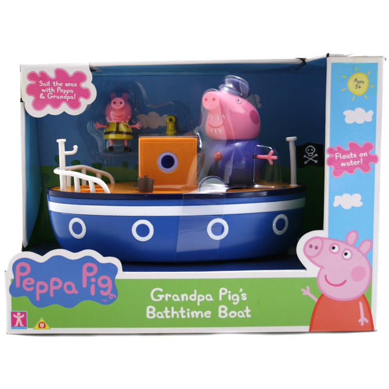 Bathtime Boat from Peppa Pig | WWSM