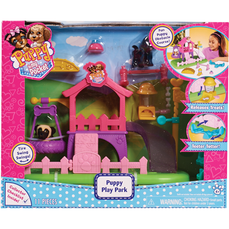 Puppy Play Park Playset From Puppy In My Pocket Wwsm