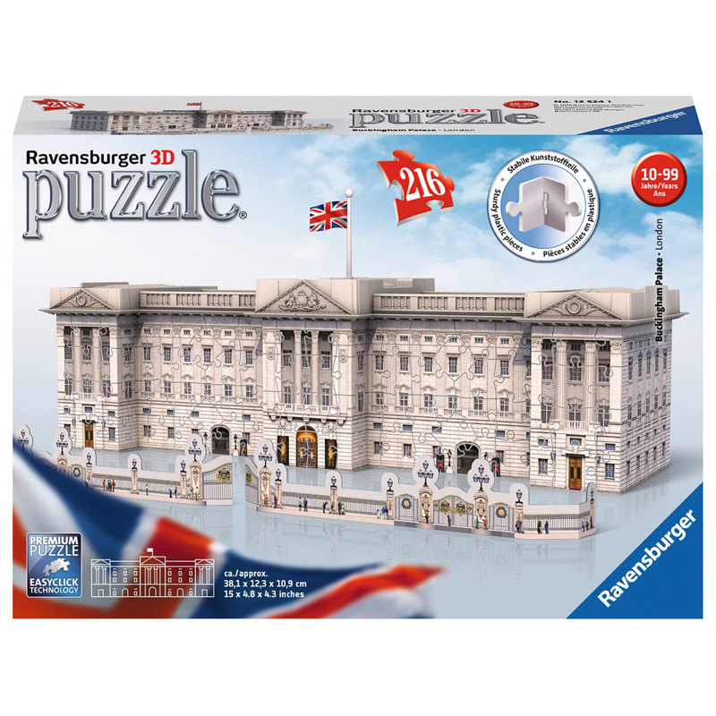 3d puzzle night edition disney 12587