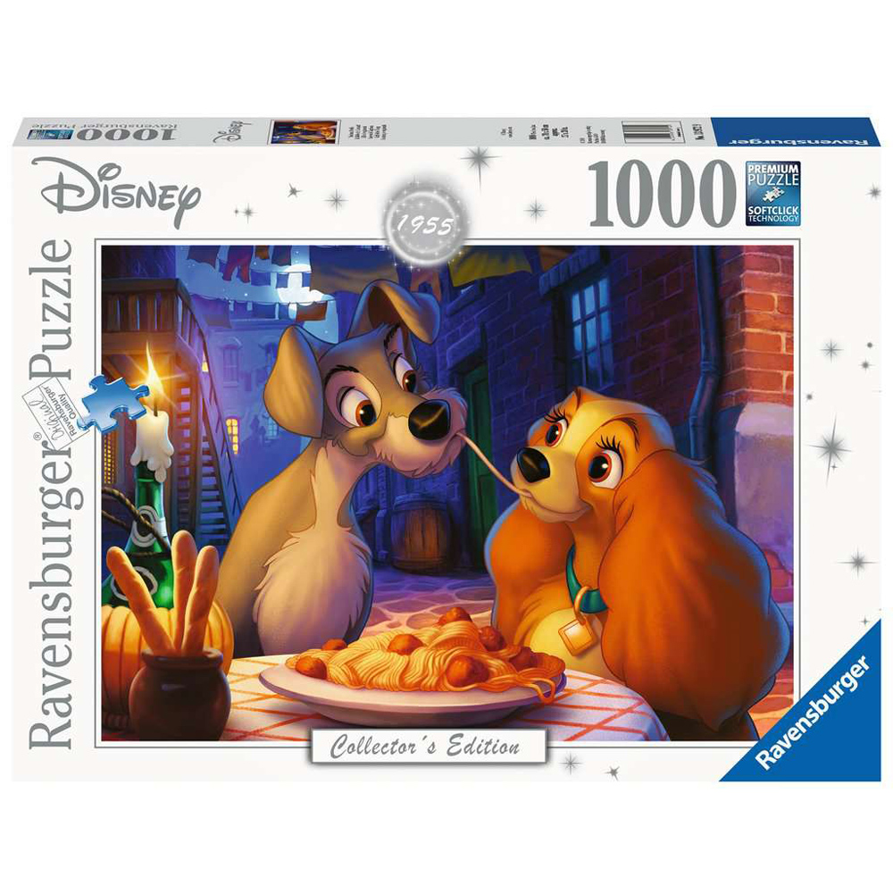 Lady & The Tramp 1000 Piece