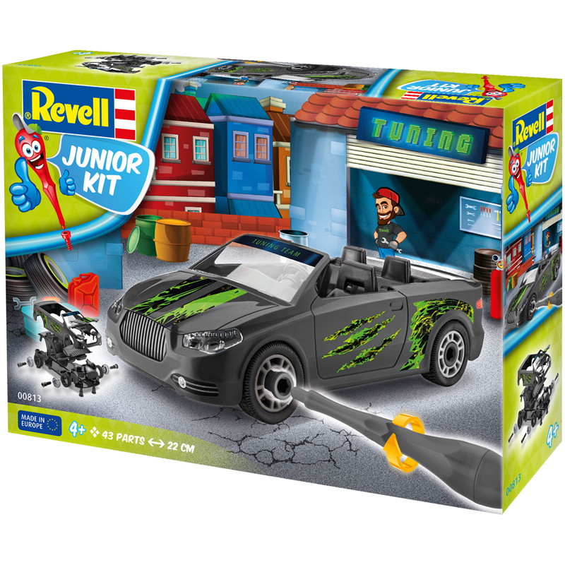 Revell Junior Kit Roadster Tuning Design Autos
