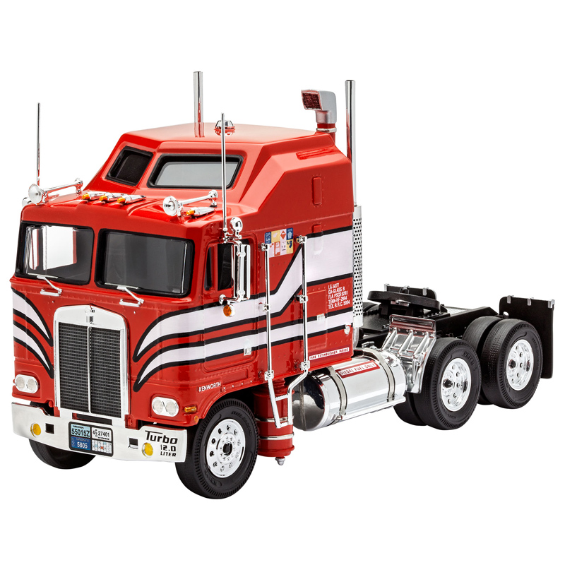 Revell Kenworth Aerodyne Truck (Level 3) (Scale 1:32 ...