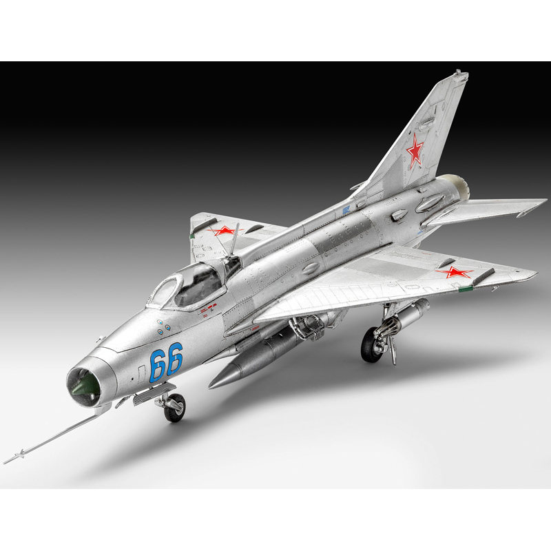 Revell MiG-21 F-13 Fishbed C (Scale 1:72) Model Kit NEW