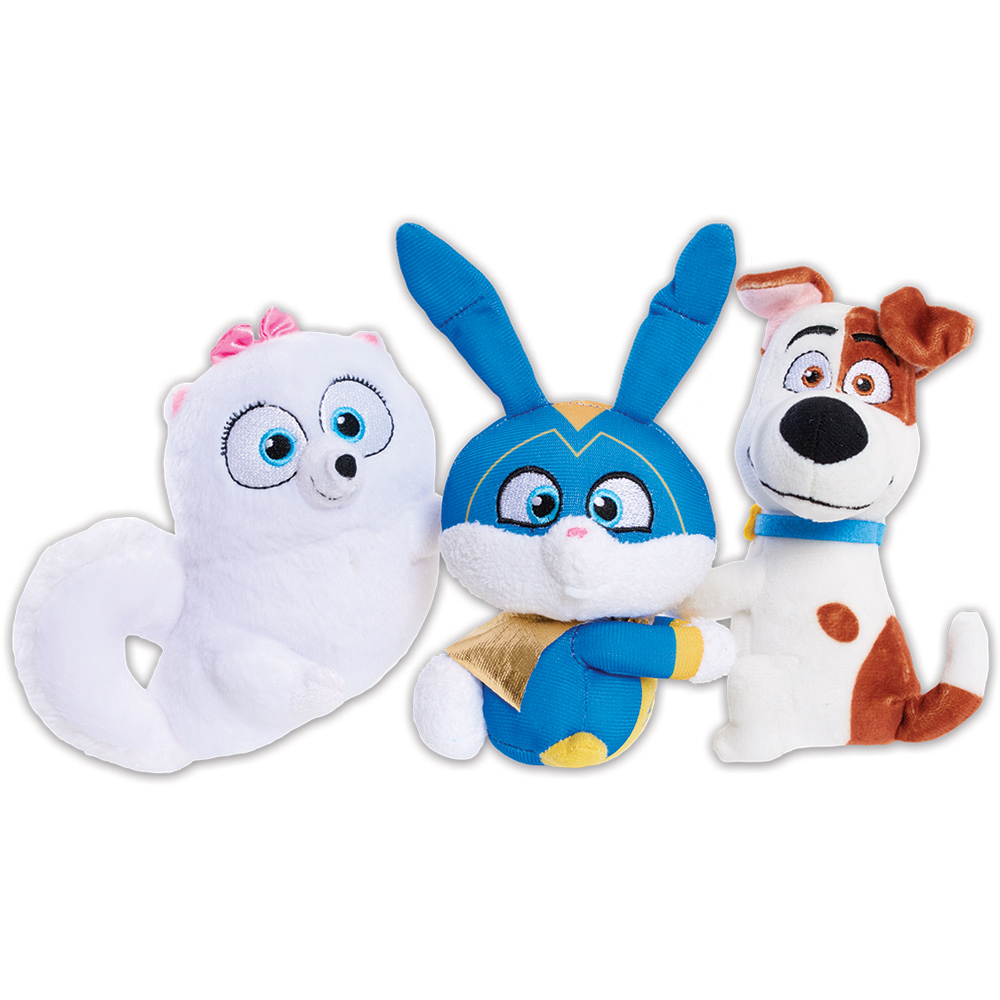 The Secret Life Of Pets 2 Chat Hang Talking Plush Max Gidget Or Snowball Ebay