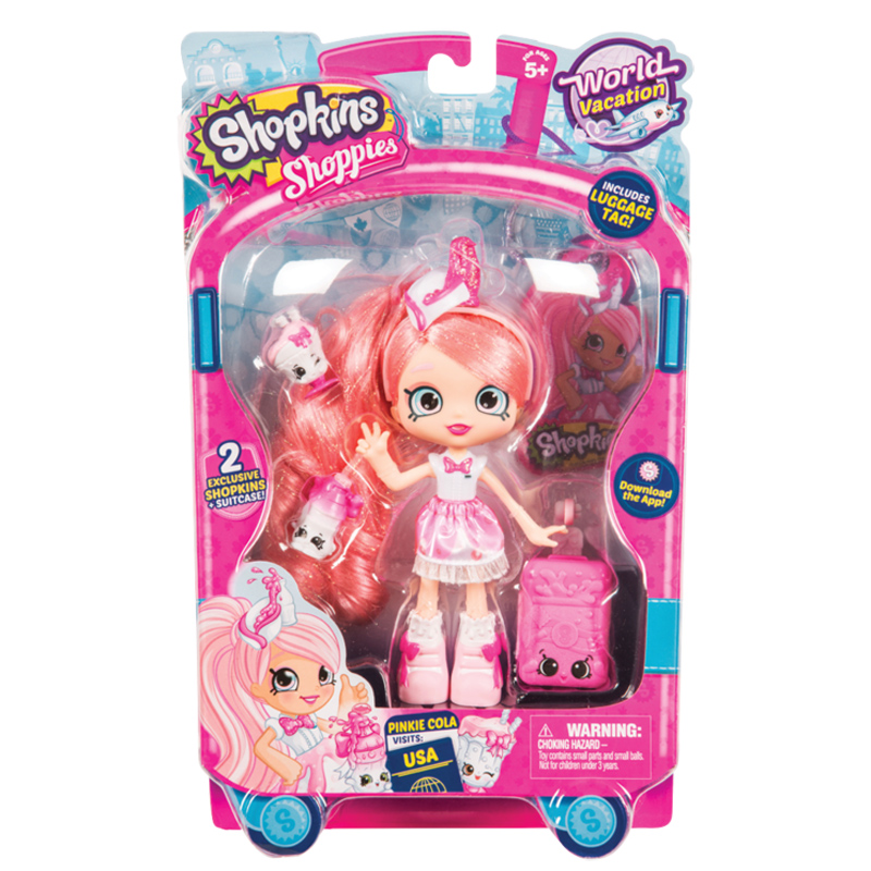 Shopkins Shoppies World Vacation Doll Series 8 Wave