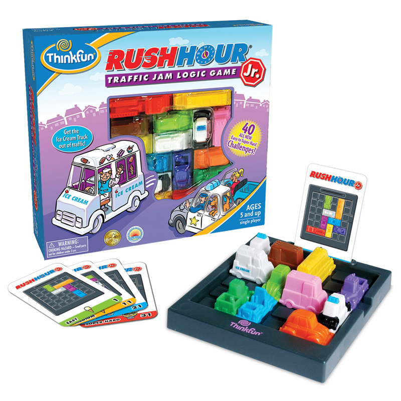 Rush Traffic Jam Logic Game Toy For Boys Girls Busy Hour Puzzle Game US STOCK